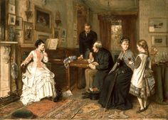 Poor Relations, 1875, by George Goodwin Kilburne