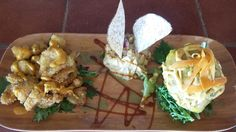 Masitas de pescado, humus y mofongo  #elviejoarturo #Cayey #Turismointernoamimodo #PRbello