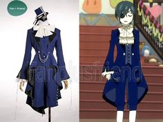 Black Butler Cosplay,Ciel Phantomhive Dance Suit. I want this so bad
