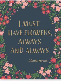 Die schönsten Blumen-Zitate