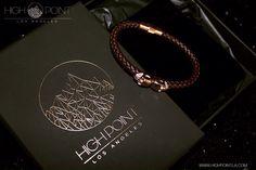 Brown Nappa leather bracelet with rose gold twin skulls @highpointla www.highpointla.com #highpointla #menswear #inspiration #menstyle #luxury #dailybracelet #mensfashion #mensfashionpost #mensaccessories #menwithstyle #skulls #la #cali #nyc #miami #bracelet #leather