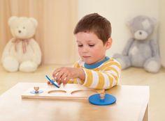 Elenco materiali sensoriali Montessori