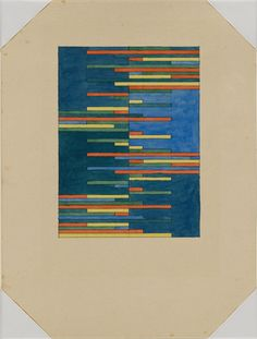 From the Harvard Art Museums' collections Design for a Tapestry Weaving Art, Tapestry Weaving, Loom Weaving, Harvard Art Museum, Geometric Pattern Design, Lap Quilts, Paper Dimensions, Bauhaus, Fiber Art