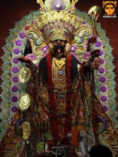 Kali Puja Pictures 2016 Part 1 Kali Puja, Durga Puja, Kali Goddess, Sanskrit, Lord Shiva, Ganesh, Deities, Spiritual, Photos