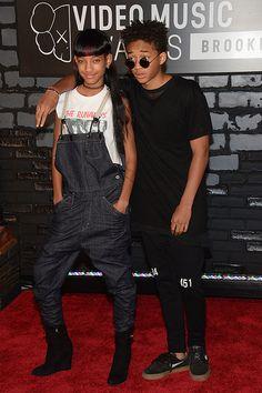 WILLOW Y JADEN SMITH  Los hermanos Smith también dijeron presente en los MTV Video Music Awards, en el Barclays Center de Brooklyn, Nueva York, el domingo 25 de agosto del 2013.