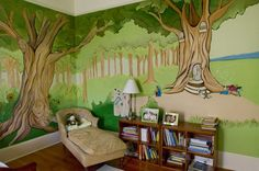 painted murals for home decorating ideas - Google Search