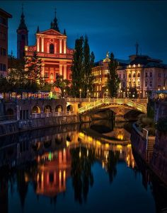 My home town looks much more magical and lovely on photos, just thought I'd share. Ljubljana, Slovenia
