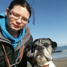Me and Deena at Amble Beach