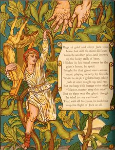 Jack and the Beanstalk - Walter Crane