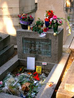 Jim Morrison's grave ... algún día estaré ahí