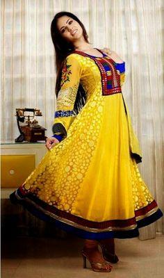 Beautiful Salwar Kameez And Anarkalis Dresses 2014
