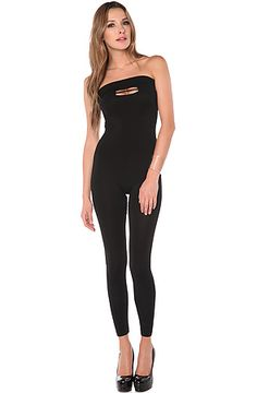 The Bounce Jumpsuit in Black by Blaque Market