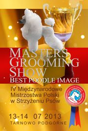 In June you can meet us on Masters Grooming Show 2013 Tarnowo Podgórne - POLAND  Come and join event.