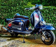Lambretta Scooter, Scooters, Bicycles, Vehicles, Instagram Posts, Motorcycles, Vintage, Motor Scooters, Car