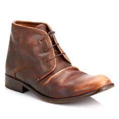 Fly London Mens Camel Watt Leather Boots