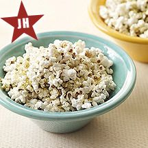 WW Parmesan-Thyme Popcorn:  4 servings; 2 points+ per serving
