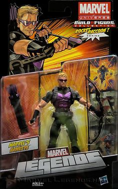 Marvel Legends Rocket Raccoon Series Modern Hawkeye
