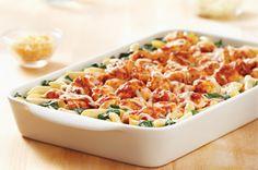 KRAFT RECIPE MAKERS Three Cheese Chicken Florentine recipe