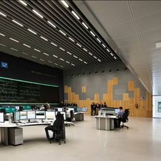 Place name: Moreno Del Valle Railway Control Centre. Company: Valle Arquitectos. Why we like it: The sense of space, imaginative use of materials