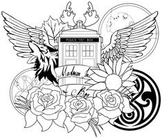 doctor who coloring pages printable bing images