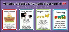 Preschool Lesson Plans, Preschool Activities, Nursery Rymes, Alfresco Designs, Children Songs, Rhymes Songs, Afrikaans, Kids Education, Kids And Parenting