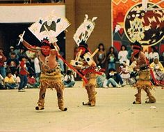 Apache Crown dancers and others in slide show.