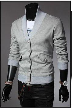 Men's Outerwear Button Up
