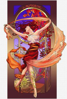 Spirit of Autumn by ~saeriellyn