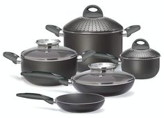 Pensofal 07PEN8635 Platino Bio-Ceramix Non-Stick 9-Piece Cookware Set -- For more information, visit now : Cookware Sets