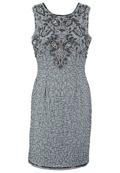 Lace & Beads KENYA - Cocktail dress / Party dress - light grey for with free delivery at Zalando Cocktail, Beaded Lace, Kenya, Party Dress, Couture, Formal Dresses, Grey, Beads, Wedding