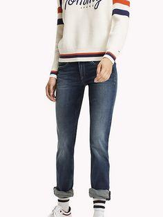 eb25f26d Купить джинсы прямого кроя TOMMY JEANS для женщин. Скидки до 70% в JEANS  SYMPHONY