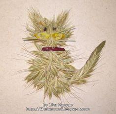Lika Hanyuu - Oshibana - Flores Secas: [Oshibana] Gato