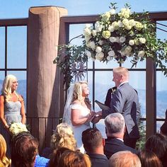 A perfect day to tie the knot. Congratulations Samantha and Andrew! #SnowbasinResort #SnowbasinSummer