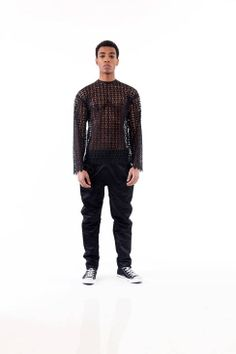 Laquan Smith Fall 2014 Ready-to-Wear Runway - Laquan Smith Ready-to-Wear Collection