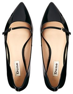 Image 3 of Dune Mahilda Mary Jane Pointed Flat Shoe