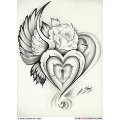 Adding wings to my heart tattoo in memory of my son Micah. Ideas...