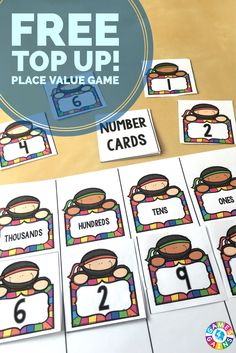 This FREE Top Up! game develops both place value and critical thinking skills!  Plus, it can be differentiated to use with both larger numbers and decimals!