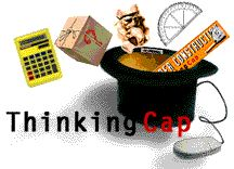 Put on your thinking cap! Open-ended math problems organized by strands and grade levels.