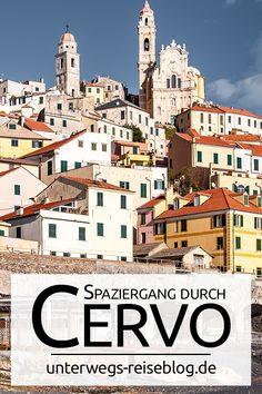Wunderschöne kleine Stadt an der Küste Liguriens