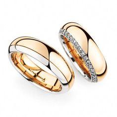 Bicolor cadena Rosegold rusa Rose oro rotgold 585 collar Fantasy-Link