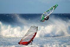 Windsurf destinations, Windsurfing, Windsurfing Holidays, Tarifa, Spain, Brandon Bay, Ireland, Tiree, Scotland, Pozo, Gran Canaria, Maui, Ha...