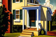 The Yellow Porch by R. Kenton Nelson