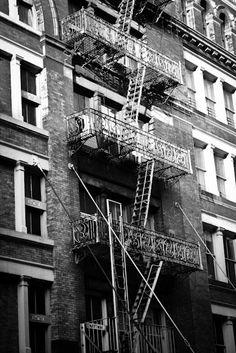 New York City in Black and White 8x10 Fine Art by rebeccaplotnick