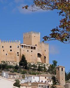 Velez Blanco castle and village