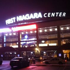 The F'N center is home to the Buffalo Sabres.