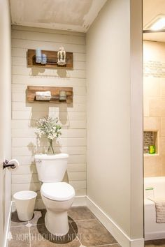 guest bathroom, bathroom decor, bathroom renovation, bathroom decor ideas #guestbathroom #homedecor
