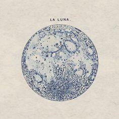 moon la Luna tattoo