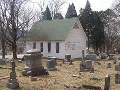 Rutledge Presbyterian Church and cemetary, Tennessee, US