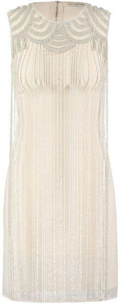 Lace & Beads FREDRICA Cocktailkleid / festliches Kleid cream
