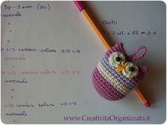 Come fare amigurumi civettina a uncinetto Istruzioni in italiano